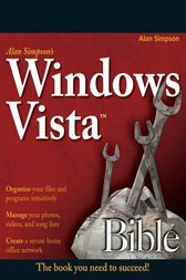 Alan Simpson's Windows Vista Bible by Alan Simpson