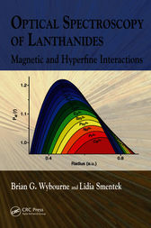Optical Spectroscopy of Lanthanides by Brian G. Wybourne