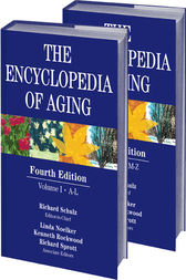 Encyclopedia of Aging by Richard Schulz