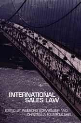 International Sales Law by Christiana Fountoulakis