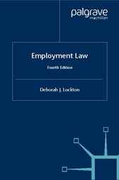 Employment Law by Deborah J. Lockton