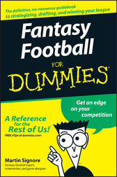 Fantasy Football For Dummies by Martin Signore