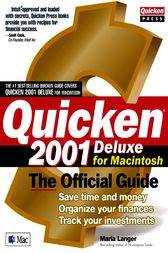 Quicken(r) 2001 Deluxe For Macintosh: The Official Guide