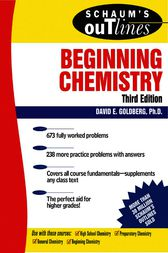 Schaum's Outline of Beginning Chemistry, 3rd ed by David Goldberg