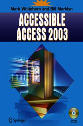 Accessible Access 2003 by Mark Whitehorn