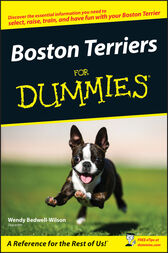 Boston Terriers For Dummies by Wendy Bedwell-Wilson
