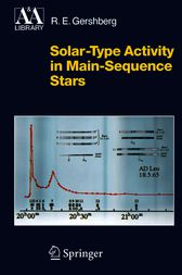 Solar-Type Activity in Main-Sequence Stars by Svetlana Knyazeva