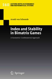 Index and Stability in Bimatrix Games by H. Arndt von Schemde