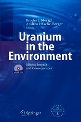 Uranium in the Environment by Broder J. Merkel