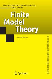 Finite Model Theory by Heinz-Dieter Ebbinghaus