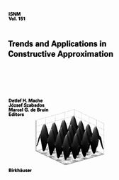 Trends and Applications in Constructive Approximation by Detlef H. Mache