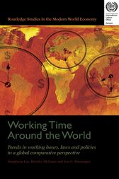 Working Time Around the World by Jon C. Messenger