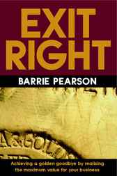 Exit Right by Barrie Pearson