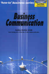 BUSINESS COMMUNICATION by Rodney Overton