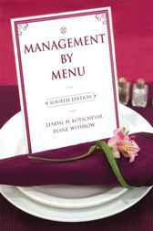 Management by Menu by Lendal H. Kotschevar