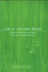 Law in its Own Right by Henrik Olsen
