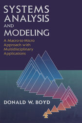 Systems Analysis and Modeling by Donald W. Boyd