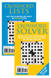 Crossword Lists & Crossword Solver
