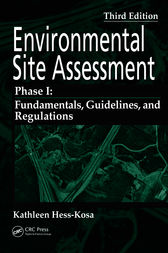Environmental Site Assessment Phase I by Kathleen Hess-Kosa