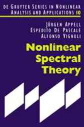 Nonlinear Spectral Theory by Jürgen Appell