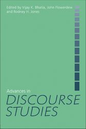Advances in Discourse Studies by Vijay Bhatia