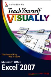 Teach Yourself VISUALLY Excel 2007 by Nancy C. Muir