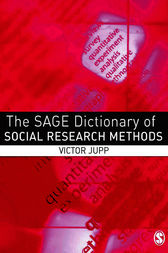 The SAGE Dictionary of Social Research Methods by Victor Jupp