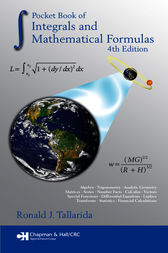 Pocket Book of Integrals and Mathematical Formulas, 4th Edition by Ronald J. Tallarida