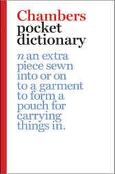 Chambers Pocket Dictionary by Ian Brookes