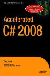 Accelerated C# 2008 by Trey Nash