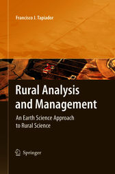 Rural Analysis and Management by Francisco J. Tapiador