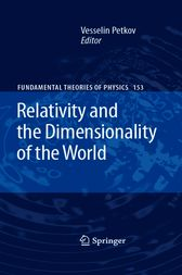 Relativity and the Dimensionality of the World by Vesselin Petkov
