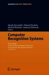 Computer Recognition Systems by Marek Kurzynski