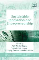 Sustainable Innovation and Entrepreneurship by R. Wüstenhagen