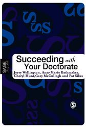 Succeeding with Your Doctorate by Jerry Wellington