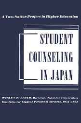 Student Counseling in Japan by Wesley P. Lloyd