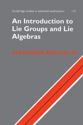 An Introduction to Lie Groups and Lie Algebras by Alexander Kirillov