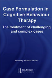 case study on formulation of cognitive behavioural perspective Functional analysis and case formulation, issues in the delivery of cognitive and   a cognitive-behavioral perspective predicts that scrupulous individuals are.