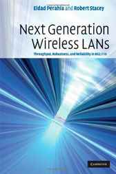 Next Generation Wireless LANs by Eldad Perahia