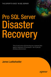 Pro SQL Server Disaster Recovery by James Luetkehoelter