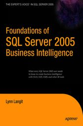 Foundations of SQL Server 2005 Business Intelligence by Lynn Langit