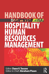 Handbook of Hospitality Human Resources Management by Dana V Tesone