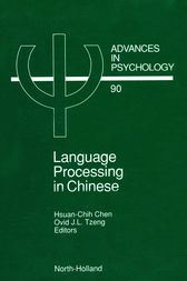 Language Processing in Chinese by Hsuan Chih Chen