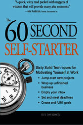 60 Second Self-Starter by Jeff Davidson
