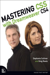 Mastering CSS with Dreamweaver CS4, Adobe Reader by Stephanie Sullivan