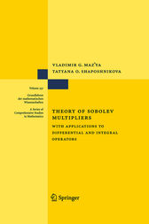 Theory of Sobolev Multipliers by Vladimir Maz'ya