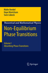 Non-Equilibrium Phase Transitions by Malte Henkel