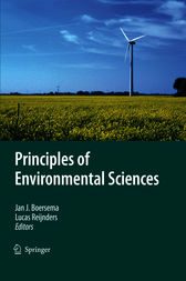 Principles of Environmental Sciences by Jan J. Boersema
