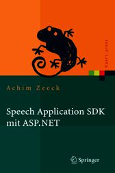 Speech Application SDK mit ASP.NET by Achim Zeeck