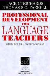 Professional Development for Language Teachers by Jack C. Richards